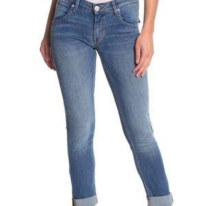 Hudson Bacara Crop Straight Cuffed Jean (29)